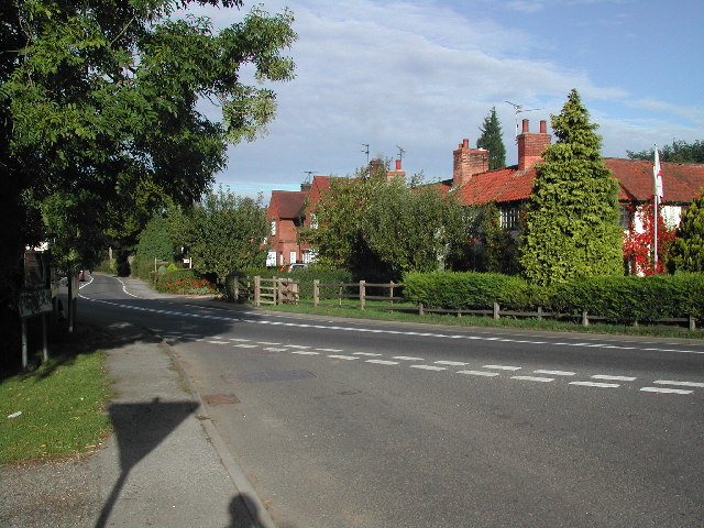 Eastern end of Kirklington Village
