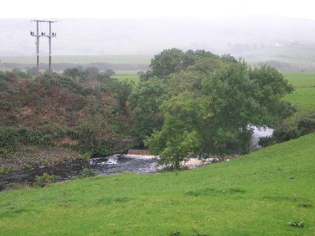 Glenlussa Water, close to Peninver, Kintyre.