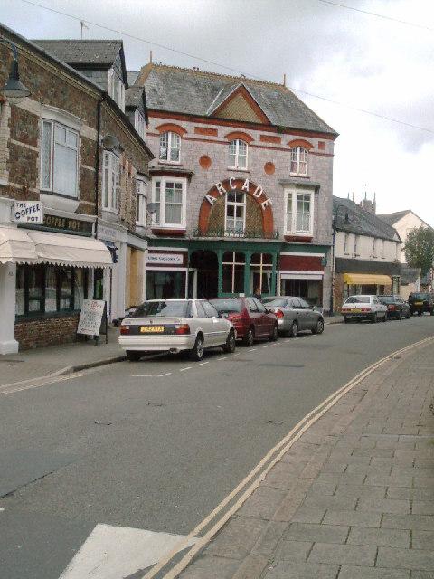 Arcade, Okehampton, Devon