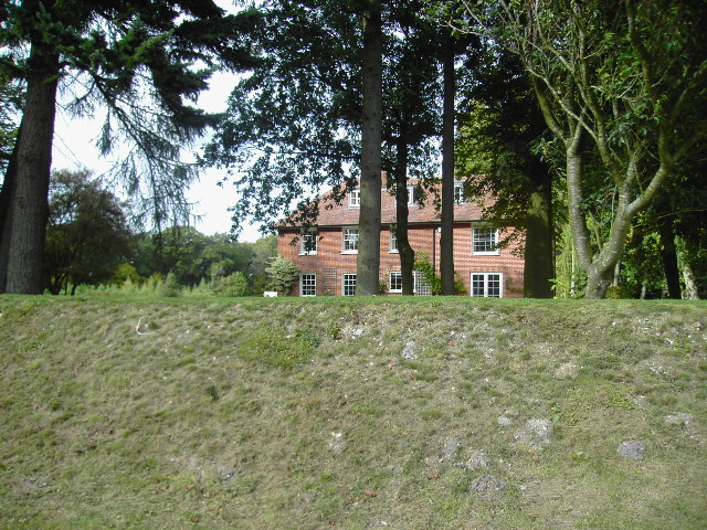 Isle Hill house near Kingsclere
