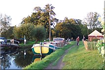 TQ0155 : Worsfold Gates on the Wey Navigation by Ron Strutt