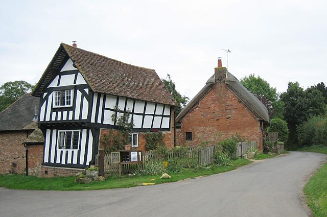 Preston on Stour, Thatched Cottage