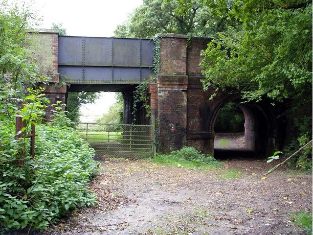 Railway bridge at Salterns, Bursledon