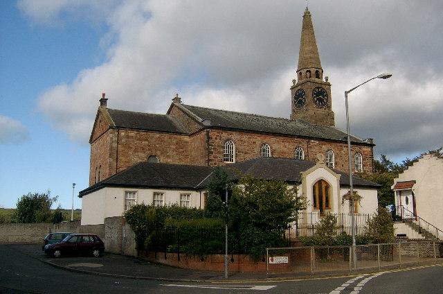 Galston Parish Church, Ayrshire