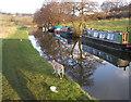 SJ9553 : Below Hazelhurst Locks by Andy Beecroft