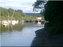 NS3882 : The River Leven at Balloch by Mike and Kirsty Grundy