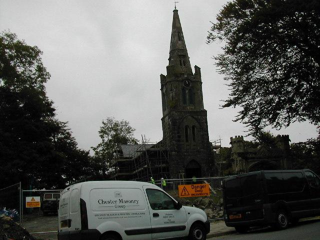 Church at Tremadog