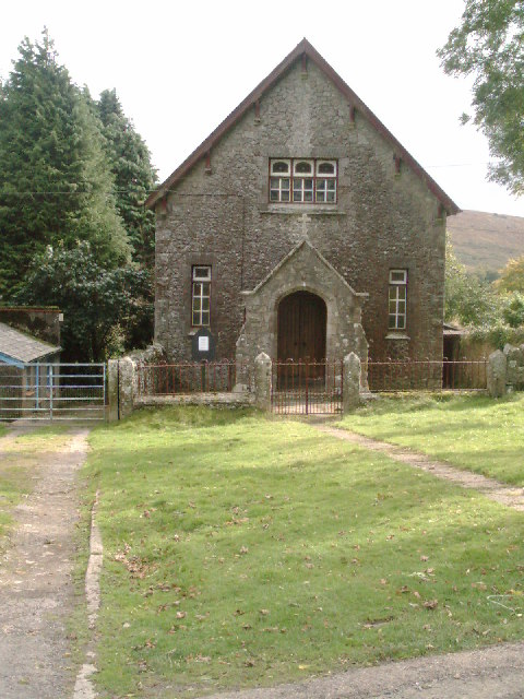 Methodist Chapel ,  Belstone ,  Dartmoor