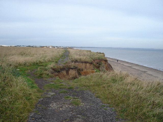 Cliff top near Ulrome