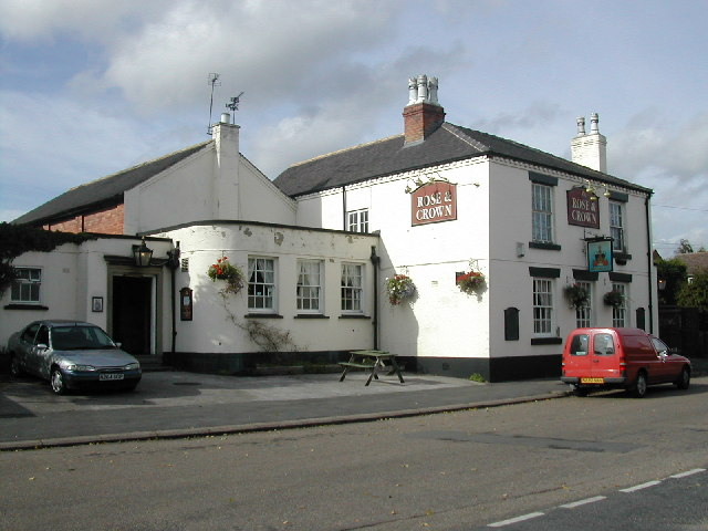 Rose & Crown Public House at Draycott