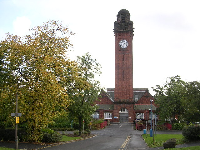Clock Tower, Stobhill Hospital, Springburn