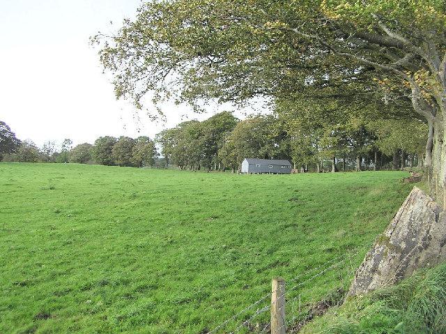 Gospel Hall in field