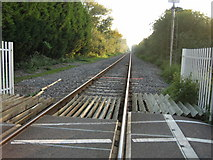 SP5720 : Bicester to Oxford line looking south-west by Jon S