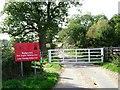 TM0020 : Ball farm Bridleway by Glyn Baker