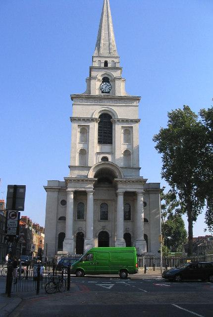 Shoreditch Church: Christ Church, Spitalfields © John Winfield Cc-by-sa/2.0