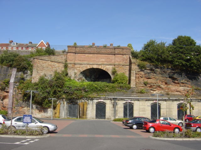 Overhead Railway Tunnel