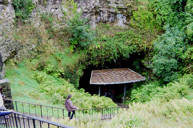 Entrance to Dunmore cave