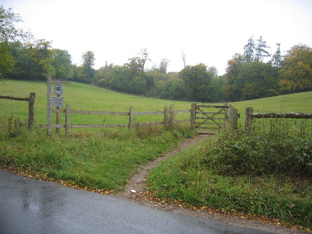 The western end of Chapel Farm valley