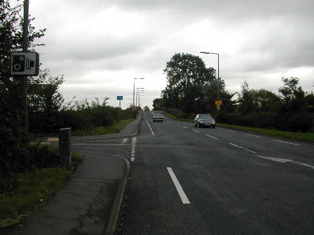 Roman Road near Draycott.