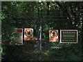 SJ5273 : Warning Signs in Delamere Forest by David Crocker