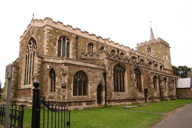 St.Mary's church, Horncastle, Lincs.