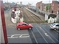 SK8508 : Level Crossing, Oakham by Kate Jewell