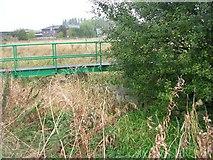 SD7908 : Bridge over Bealey's Goit by Keith Williamson