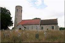 TM4077 : St Peter's Church, Holton. by Nat Bocking