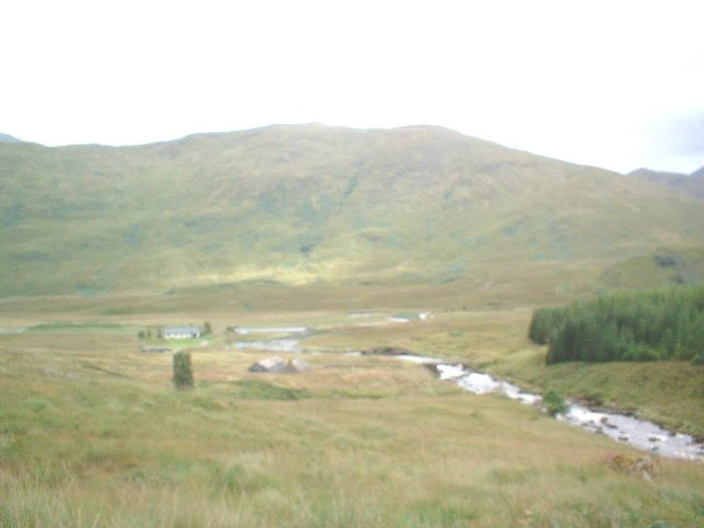 Strathan settlement at the head of Loch Arkaig
