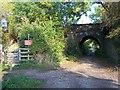 SO9239 : Horseshoe Railway Bridge, Bredon's Norton by Bob Embleton