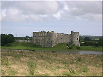 SN0403 : View of Carew Castle by Andy Lesnianski