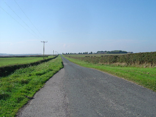 Country road near Lund