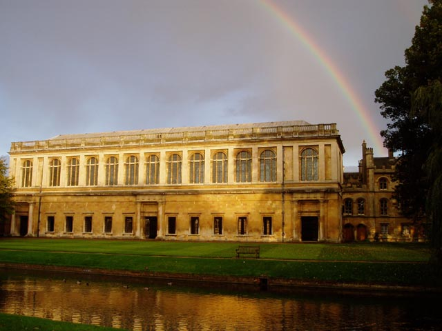 The Wren Library, Trinity College © David Gruar cc-by-sa/2 0