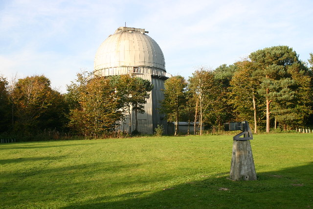 Herstmonceux trig with Isaac Newton telescope