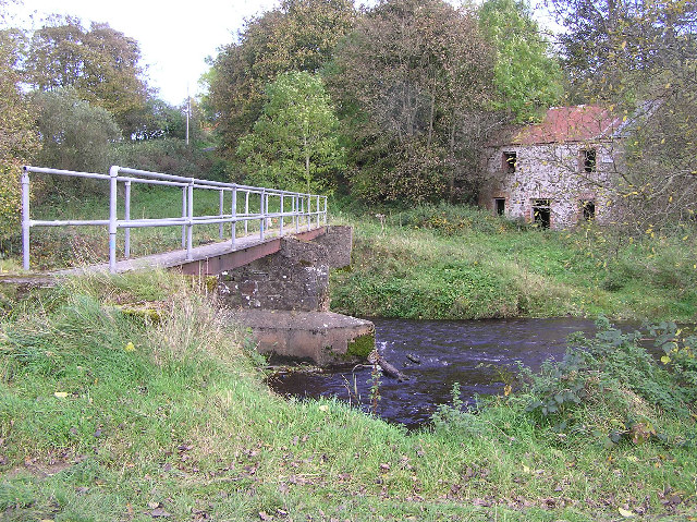 Footbridge at Bancran, Drumduff