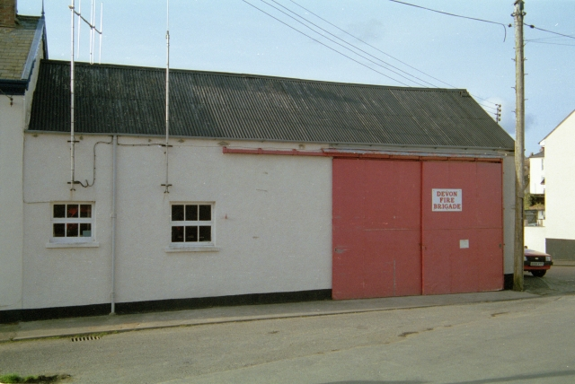 Chulmleigh Fire Station