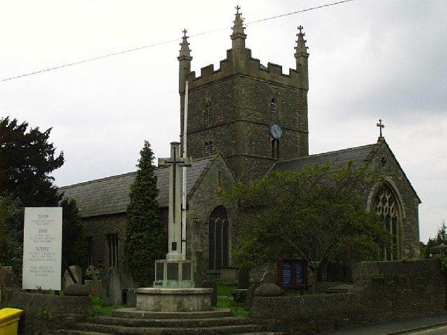 Olveston (Glos) St Mary's church