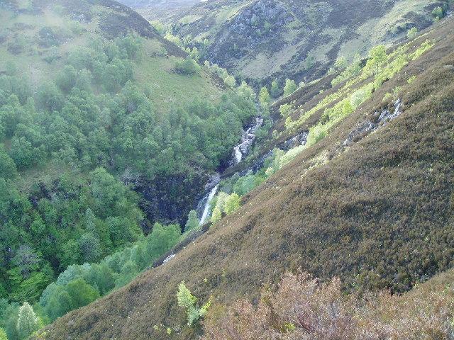 Kilfinnan Falls