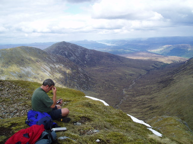 D. Munro on top of a Munro!
