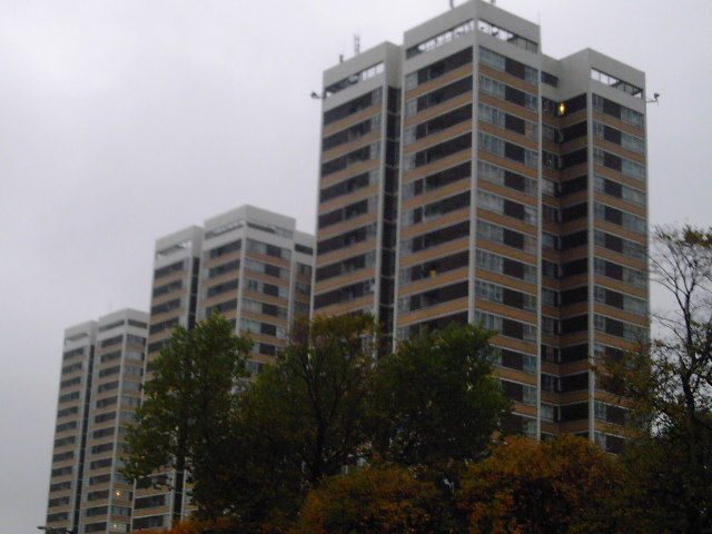 The Most Visible Tower Blocks in Newcastle