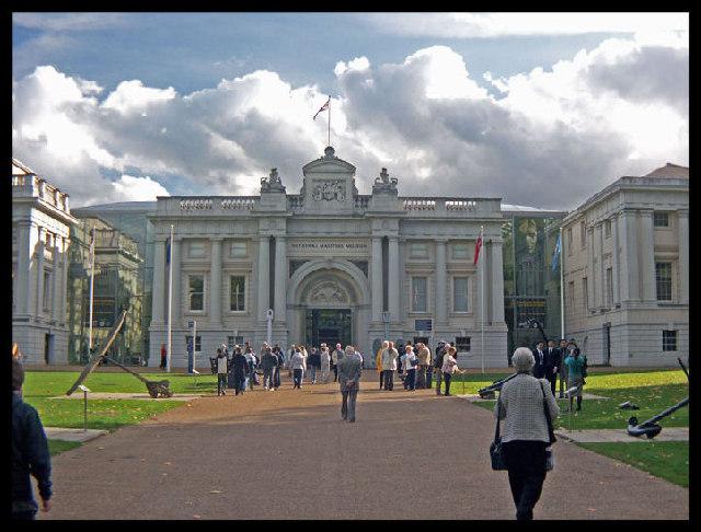 National Maritime Museum. Greenwich. London.