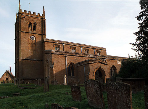 The Church of All Saints Wroxton