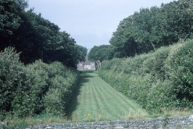 Lambay Castle: one of the garden vistas