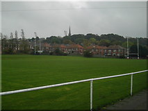 NZ2660 : Rugby Pitch by MSX