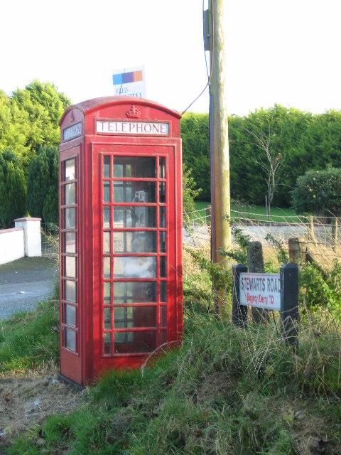 Red Telephone Box © Brian Shaw :: Geograph Ireland