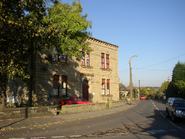 Former Town Hall, Liversedge by Humphrey Bolton