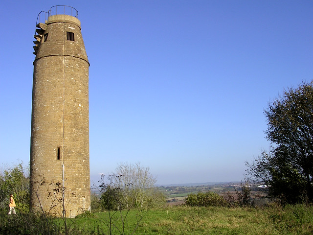 The tower on St Michael's Hill, Montacute