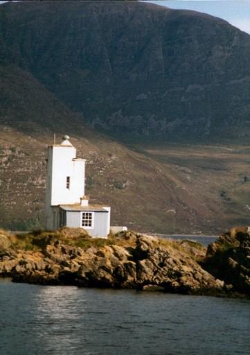 Eilean a Chait Lighthouse, Plockton