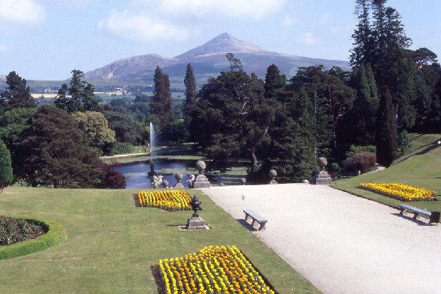 Powerscourt; one of Ireland's most majestic gardens.