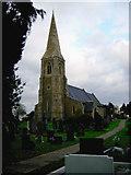 SE8317 : St Oswald's Church, Luddington by Heather Holdridge
